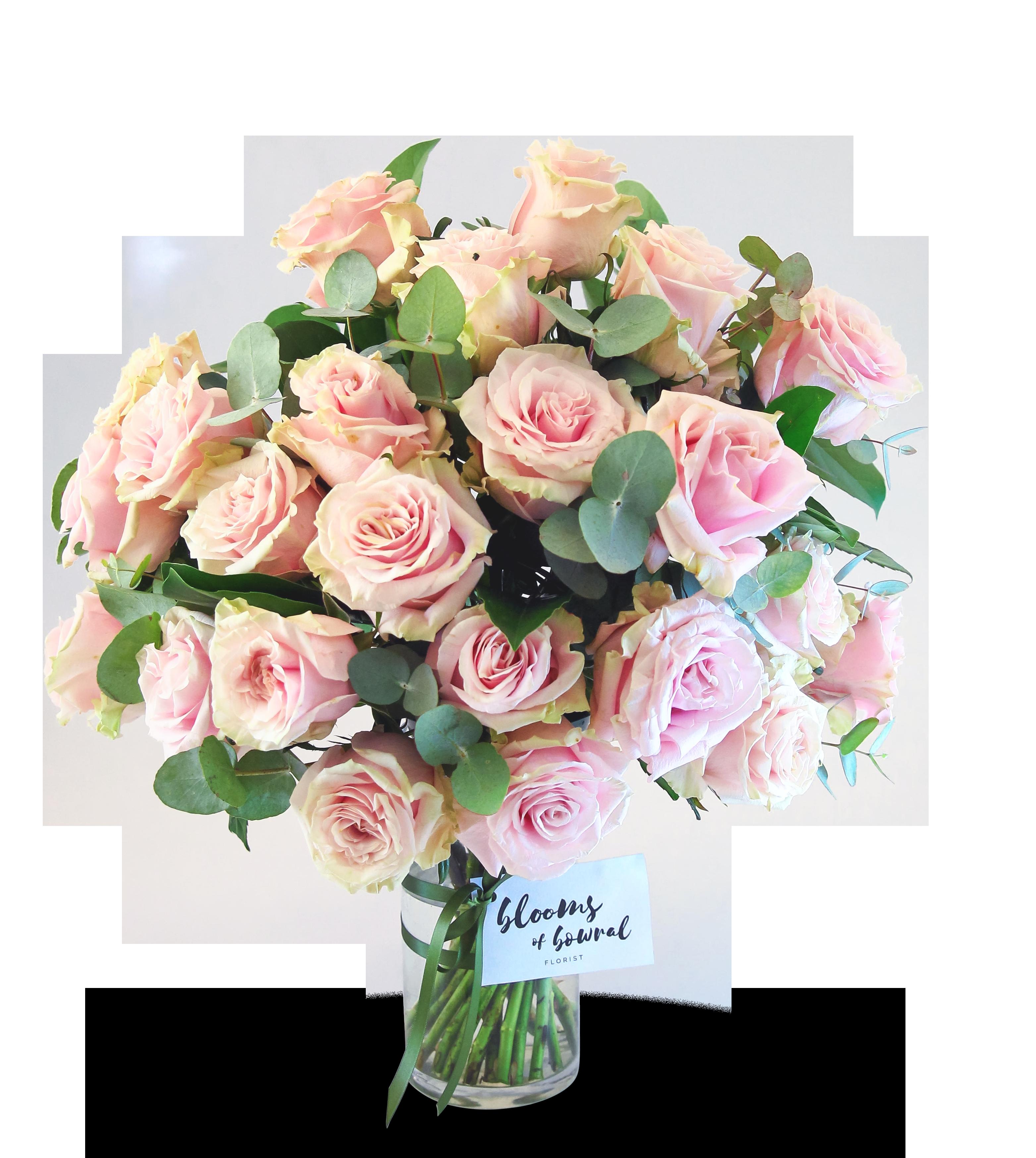 237 & Pink Rose Vase Arrangement